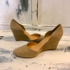 Antonio Melani Chance Pointed-Toe d´Orsay Wedges